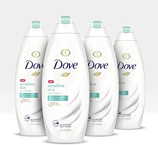 Dove Body Wash Nourishing Sensitive Skin Sulfate Free and Hypoallergenic 22 oz 4 count