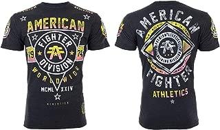 Men T-Shirt Pomona Artisan Athletic Black Biker Gym MMA UFC