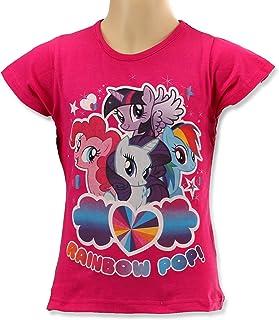 c1873f59 My Little Pony Girls Rainbow Pop Best Friends Short Sleeved T-Shirt