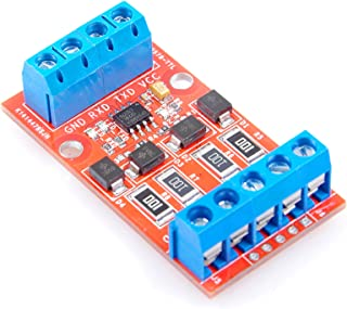 RS422 to TTL/UART / MCU Serial Port Signal Mutual Conversion Module with Over-Voltage Over-Current Protection-3.3V