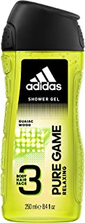 adidas Pure Game 3In1 Body, Hair And Face Shower Gel 250 ml