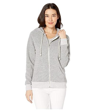 Alternative Adrian Hoodie (Eco Grey Classic Stripe) Women