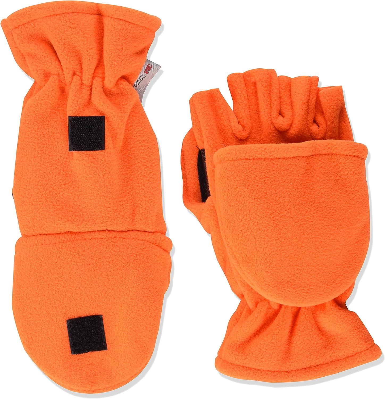 Quietwear Flip Mitten, Orange, X-Large