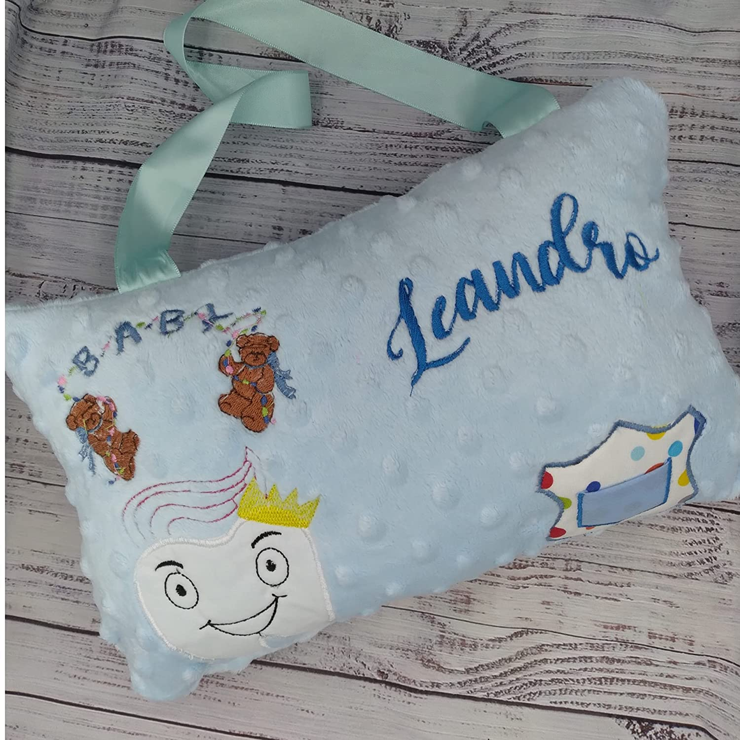 Tooth Fairy Pillow Boy Free shipping on posting Genuine reviews Baby Bears