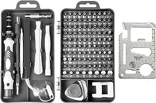 Screwdriver Set Kingsdun Precision Magnetic Screwdriver Set 122 in1 Professional Screw driver Tools Sets PC Repair Kit for...