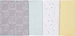 Gerber Baby 4-Pack Flannel Burp Cloth