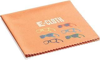 e-cloth Glasses 3 Pack Microfiber Cleaning Cloths, Orange, 3