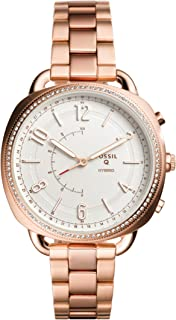 Fossil Hybrid Smartwatch Accomplice Rose Gold Tone Stainless Steel - FTW1208