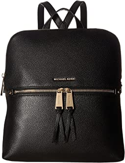 54c5e7f7f187 MICHAEL Michael Kors. Rhea Zip Medium Slim Backpack. $258.00. 5Rated 5  stars. Black