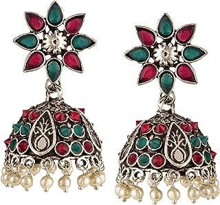 Best sterling silver jhumka earrings Reviews