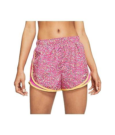 Nike Icon Clash Tempo Shorts Print (Fire Pink/Fire Pink/Topaz Gold/White) Women