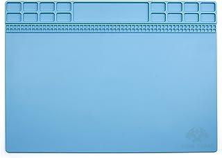cohk diseño 35 x 25 cm de aislamiento térmico de silicona Pad tetera BGA estación de