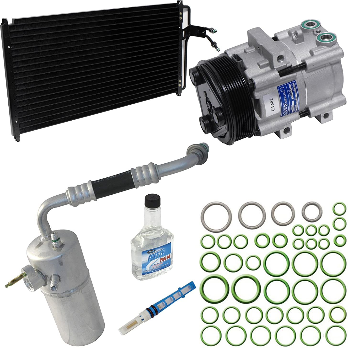 Universal Air Conditioner KT 4153A A/A/C Compressor/Component Kit