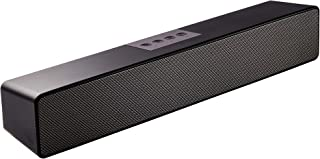 Computer Speaker,Bluetooth Computer Sound Bar USB Powered,Stereo Audio Soundbars for PC, Monitor, Desktop Laptop, Tablet, Smartphone, TV Speaker by Saiyin 15 Inch 10W Wired & Wireless and Microphone