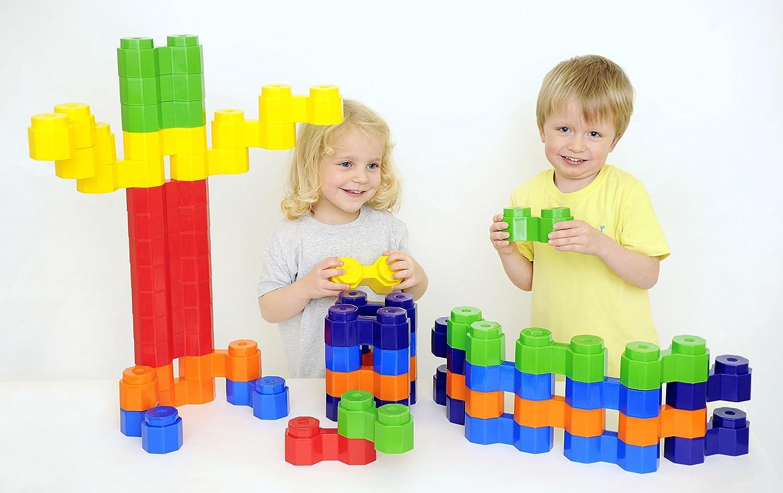 Educational Advantage EA-566 Doppel-achteckiger Block, 48 Teile