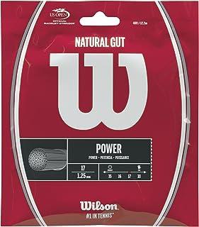 Wilson(ウイルソン) テニス ストリング ガット NATURAL GUT 17 (ナチュラルガット 17) WRZ999900 ウィルソン