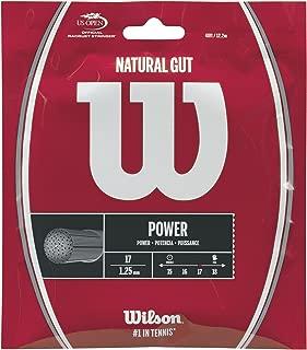 Wilson Natural Gut Tennis String ()