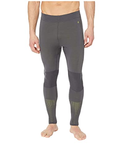 Smartwool Intraknit Merino 200 Bottoms (Charcoal/Smartwool Green) Men