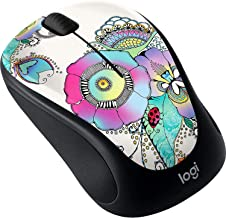 Logitech - M325C Collection Wireless Optical Mouse - Lady On The Lily