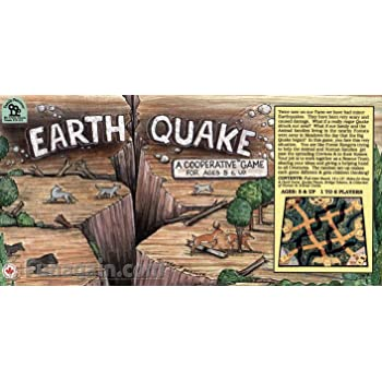 Family Pastimes Earthquake A Co-operative Game