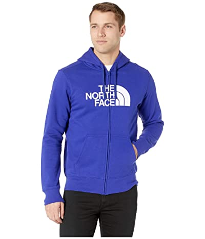 The North Face Half Dome Full Zip Hoodie (Aztec Blue/TNF White) Men