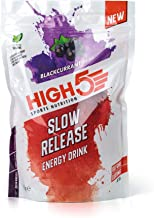 HIGH5 Slow Release Energy Drink Low Gi Sports Drink Enhanced with Ocean Minerals Slow Release Energy Supply Blackcurrant 1 kg Estimated Price : £ 26,08