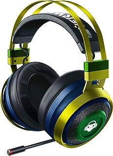 Razer Nari Ultimate Wireless 7.1 Surround Sound Gaming Headset: THX Audio & Haptic Feedback - Auto-Adjust Headband - Chrom...