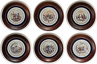 Bradford Galleries - 1973 Lafayette Legacy Collection - 6 plates Premier Edition Porcelaine de Limoges France -