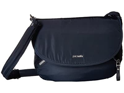 Pacsafe Stylesafe Anti-Theft Crossbody Bag (Navy) Cross Body Handbags