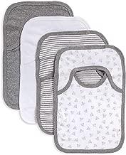 Burt's Bees Baby – Bibs, 4-Pack Lap-Shoulder Drool Cloths, 100% Organic Cotton..