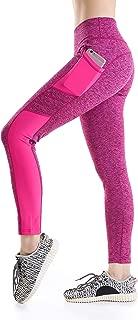 Annjoli Women's Yoga Pants Workout Running Leggings Exercise Workout Pants