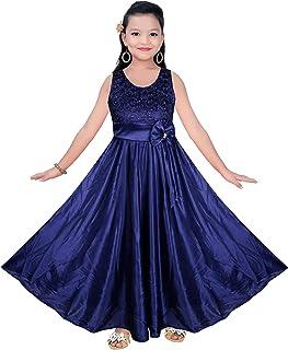 SeCCA Girls Frock Dress - Satin Lycra Frock