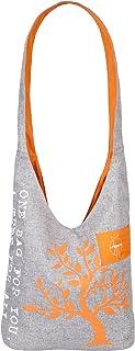 Lassig Womens Green Label Charity Shopper Black Melange, Orange