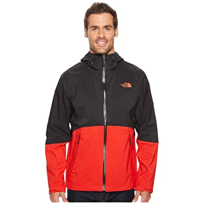 The North Face Matthes Jacket (TNF Black/Centennial Red) Men