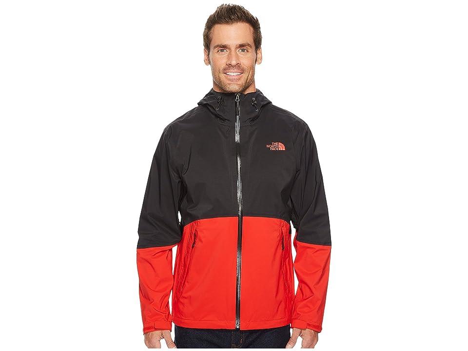 The North Face Matthes Jacket (TNF Black/Centennial Red) Men