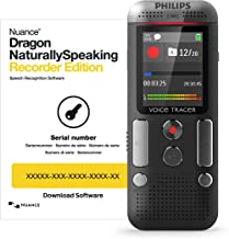 Philips VoiceTracer Audio Recorder DVT2710/00 with Dragon Speech Recognition Software