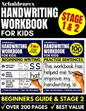 Handwriting Workbook for Kids: Handwriting Practice Book (Handwriting for Beginners / Sentence Writing Workbook)