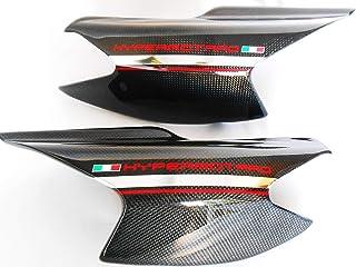 Vulturbike Adesivi fianchetti Posteriori Ducati Hypermotard 796//1100 Cromato