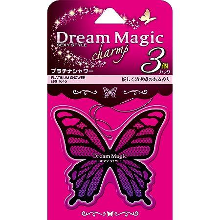 カーオール(Carall) 芳香剤 ドリームマジックチャーム3個パック プラチナシャワー 9g×3個 1645