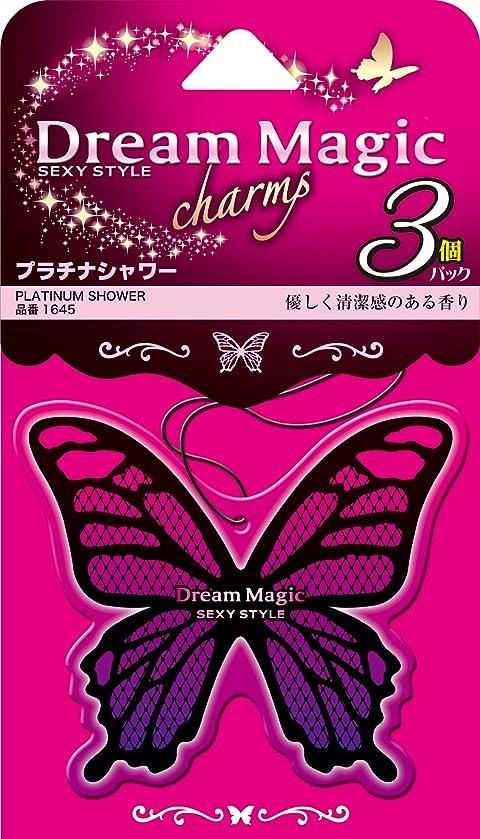 ログ素晴らしさシンジケートカーオール(Carall) 芳香剤 ドリームマジックチャーム3個パック プラチナシャワー 9g×3個 1645
