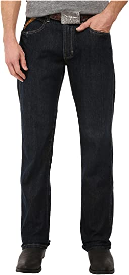 Rebar M5 Slim Straight Leg Jeans in Blackstone