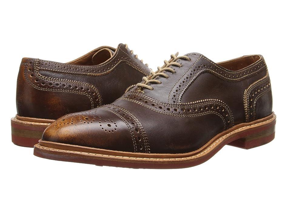 Allen Edmonds Strandmok (Brown Leather) Men