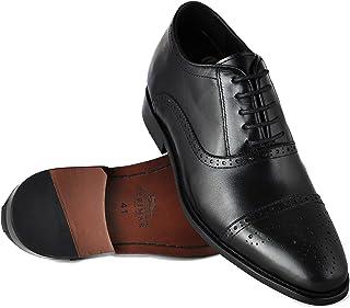 ZERIMAR Zapatos con Alzas Interiores para Caballeros Aumento 7 cm | Zapatos de Hombre con Alzas Que Aumentan su Altura | Z...
