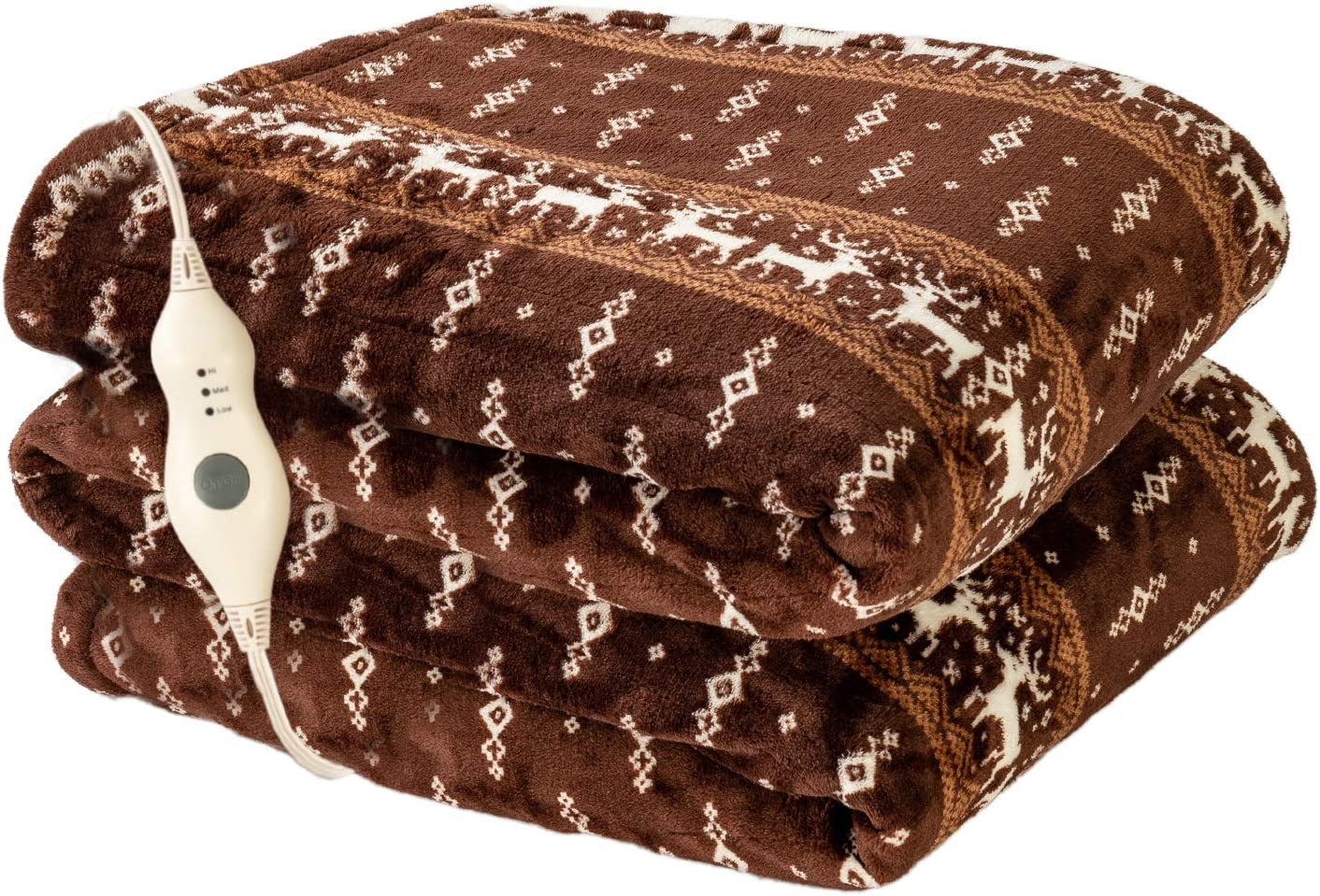 Tampa Mall Electric Heated Blanket Throw with Low price 3 Levels Heating Hours 4 Au