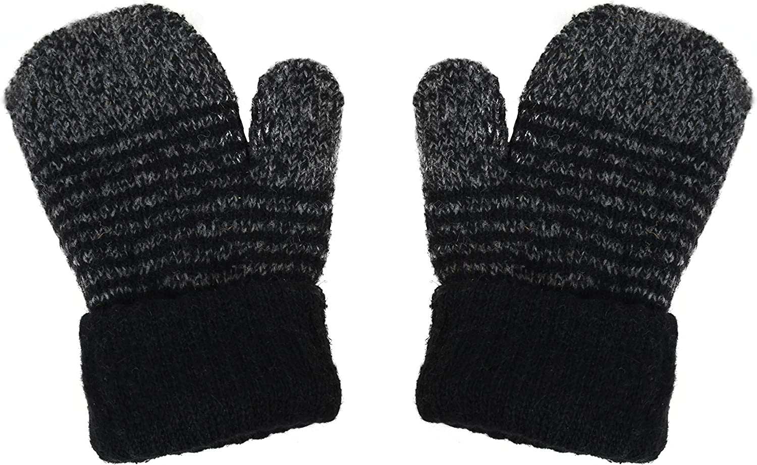 WInter Gift 3 Pairs of Womens Knitted Fingerless Gloves With Sparkle Thread