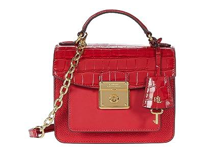 LAUREN Ralph Lauren Beckett 19 Crossbody (RL 2000 Red) Handbags