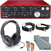 Best focusrite scarlett 2i2 headphone jack size Reviews
