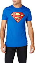 DC Comics Men's Superman Logo T-Shirt