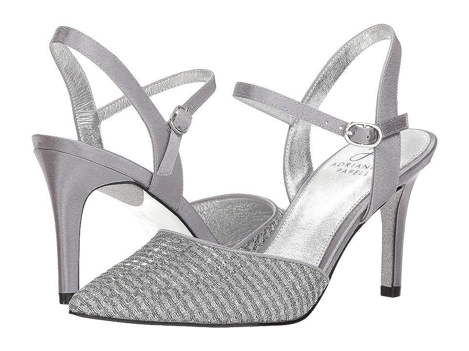 Adrianna Papell Hadleigh (Antique Silver Crystal Glitter) Women