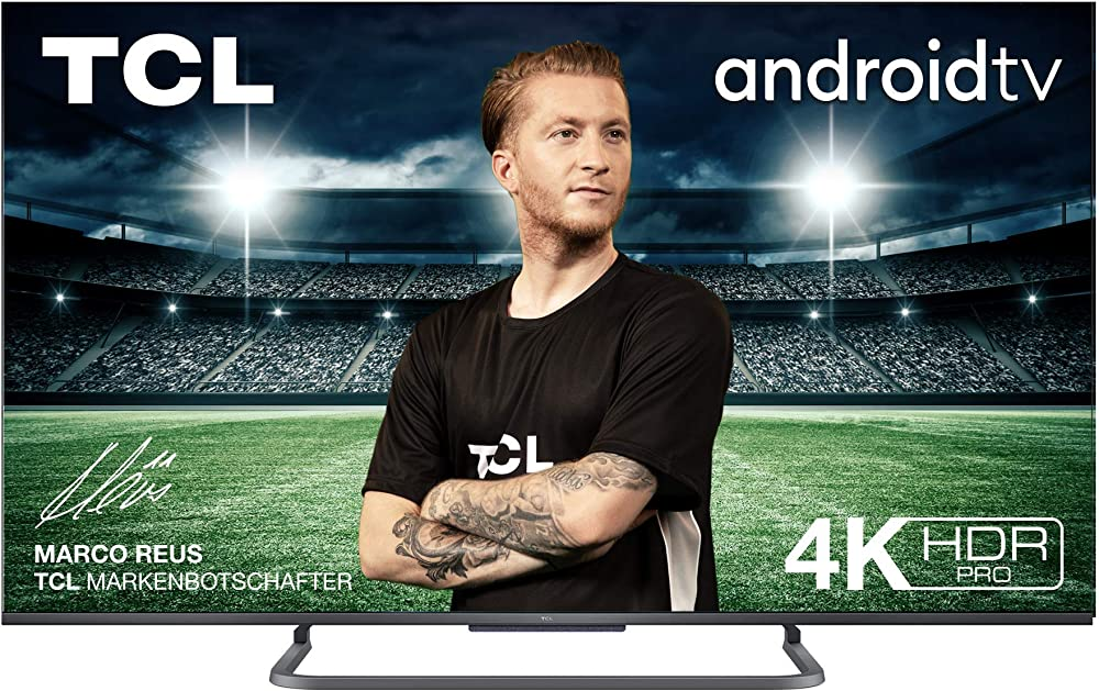 Tcl tv 50 pollici smart tv 4k hdr pro, ultra hd, con sistema android 9.0 50P816